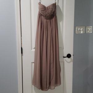 Jenny Yoo strapeless bridesmaid dress